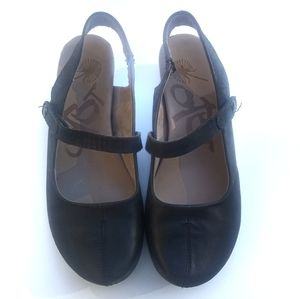 OTBT Springfield Black Leather Shoes Sz 10 M